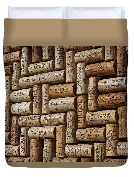 Napa Valley Wine Auction Duvet Cover by Anthony Jones