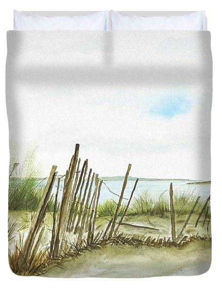 Napatree Point Watch Hill, Ri Duvet Cover