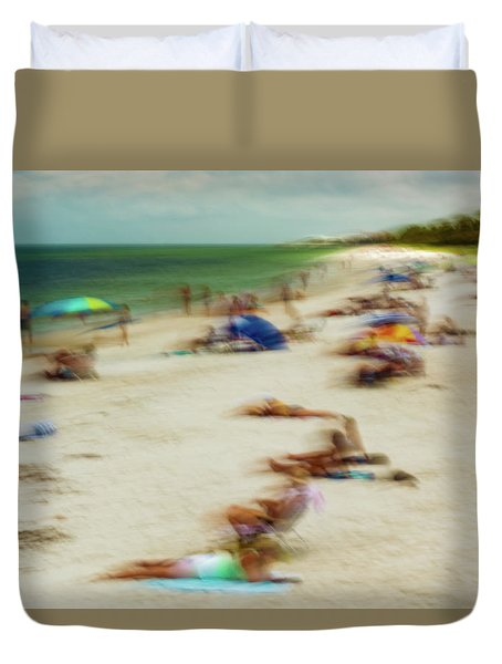 Naples Florida Duvet Cover