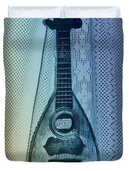 Napolitan Mandolin Duvet Cover by Bill Cannon