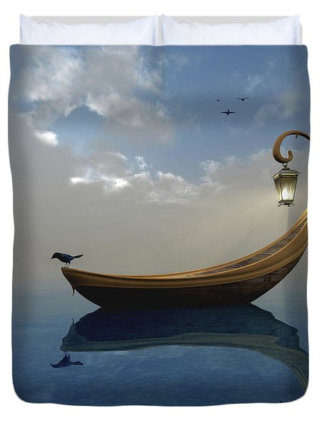 Narcissism Duvet Cover