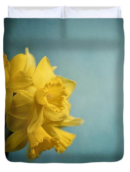 Narcissus Duvet Cover