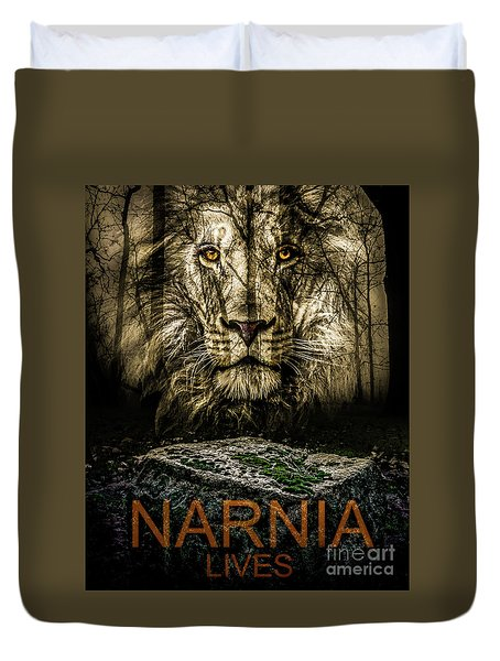 Narnia Lives Duvet Cover