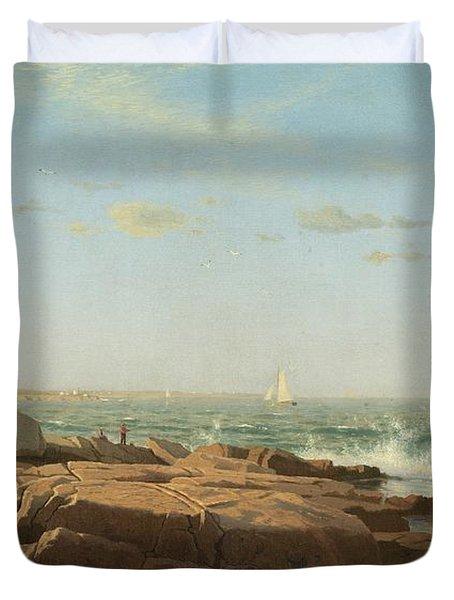 Narragansett Bay Duvet Cover