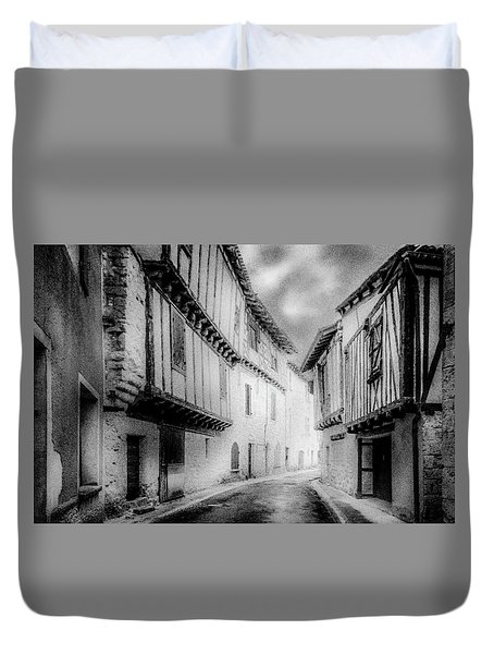 Narrow Alley Duvet Cover