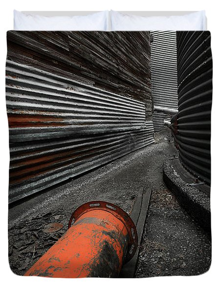 Narrow Passage Duvet Cover