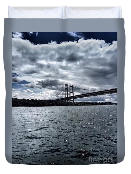 Narrows Bridge Duvet Cover