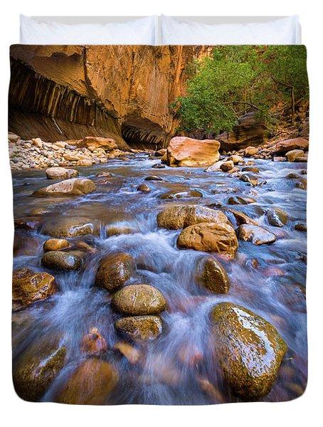 Narrows Cascades Duvet Cover