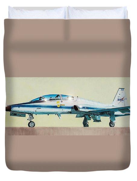 Nasa T-38 Talon Duvet Cover