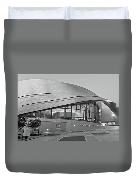Nascar Hall Of Fame Duvet Cover