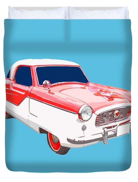 Nash Metropolitan Tee Duvet Cover