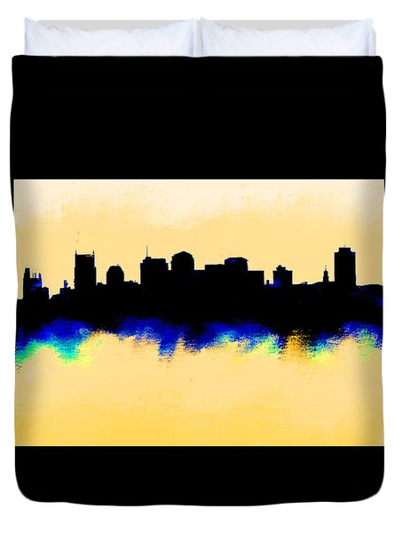 Nashville  Skyline  Duvet Cover