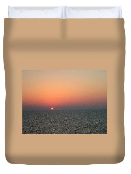 Nassau Sunset Duvet Cover