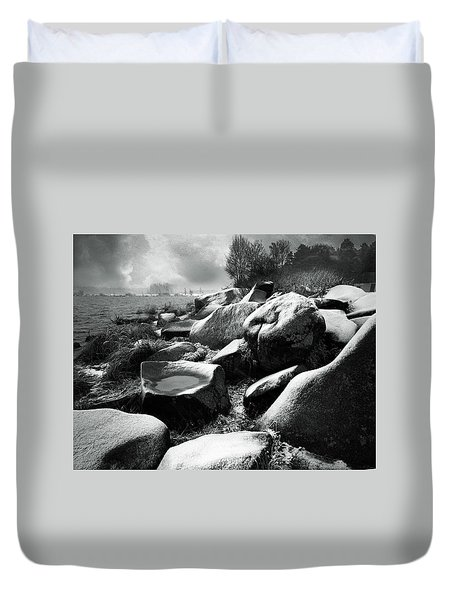 Nasty Weather Duvet Cover