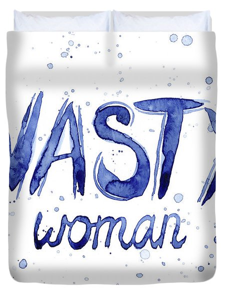Nasty Woman Such A Nasty Woman Art Duvet Cover