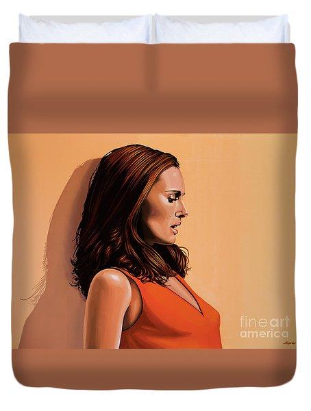 Natalie Portman 2 Duvet Cover