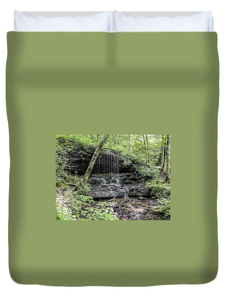 Natchez Trace Waterfall Duvet Cover