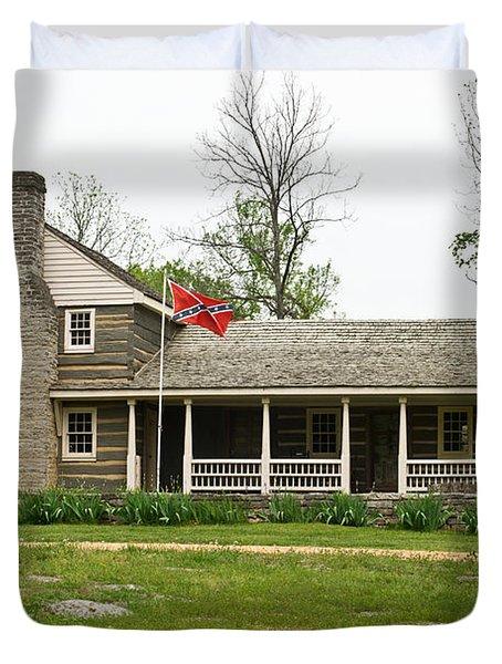 Nathan Bedford Forrest Boyhood Home 3 Duvet Cover by Douglas Barnett
