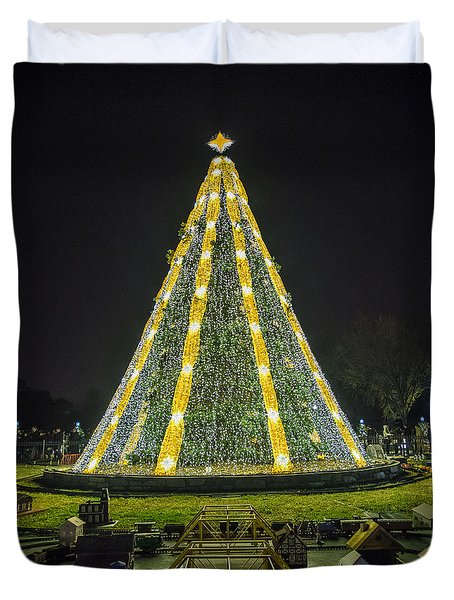 National Christmas Tree #1 Duvet Cover