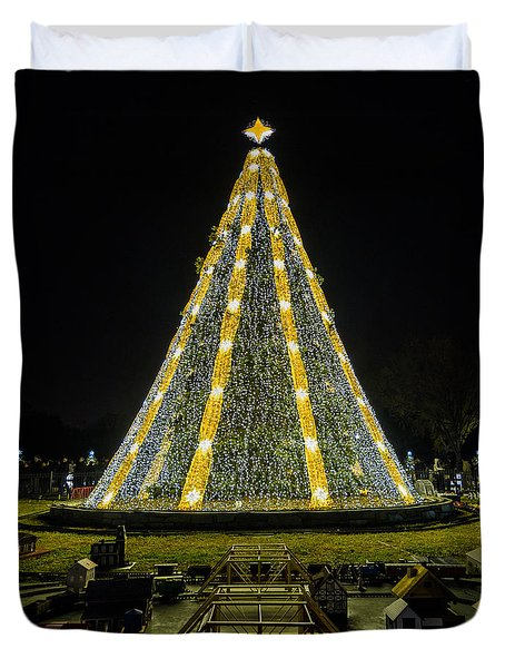 National Christmas Tree #2 Duvet Cover