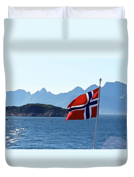 National Day Of Norway In May Duvet Cover