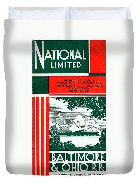 National Limited Duvet Cover