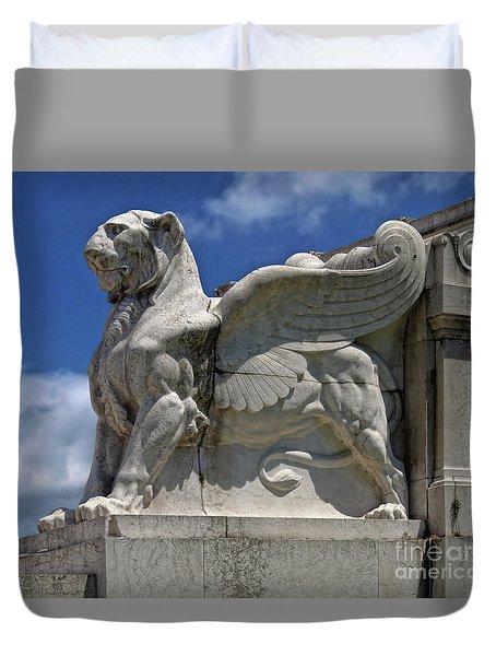 National Monument To Victor Emmanuel II Duvet Cover