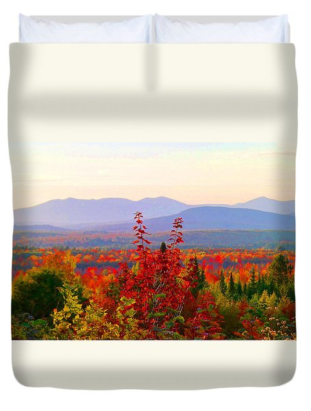 National Scenic Byway Duvet Cover