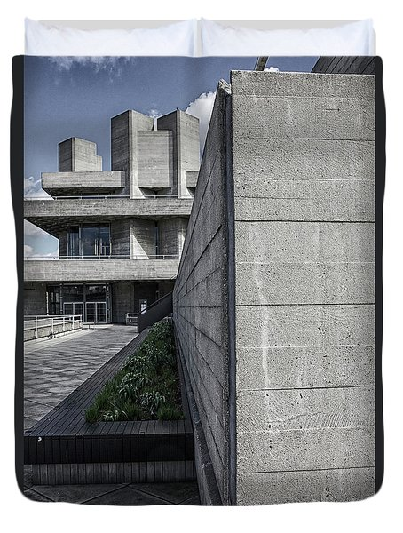 National Theatre Path, London Duvet Cover