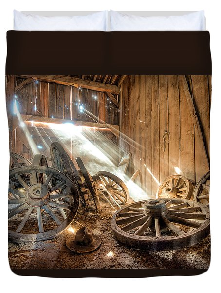 National Treasure Duvet Cover