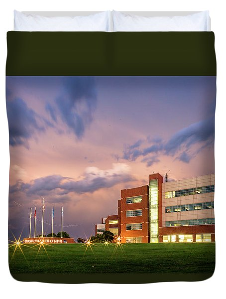National Weather Center II Duvet Cover
