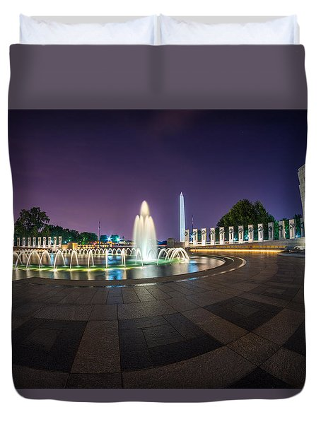 National Wwii Memorial Duvet Cover