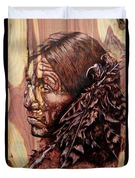 Native Duvet Cover by Amanda Hukill