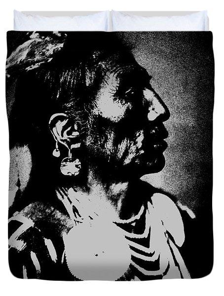 Native American 2 Curtis Duvet Cover by David Bridburg