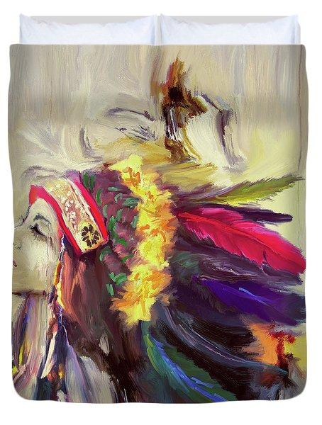 Native American 274 3 Duvet Cover