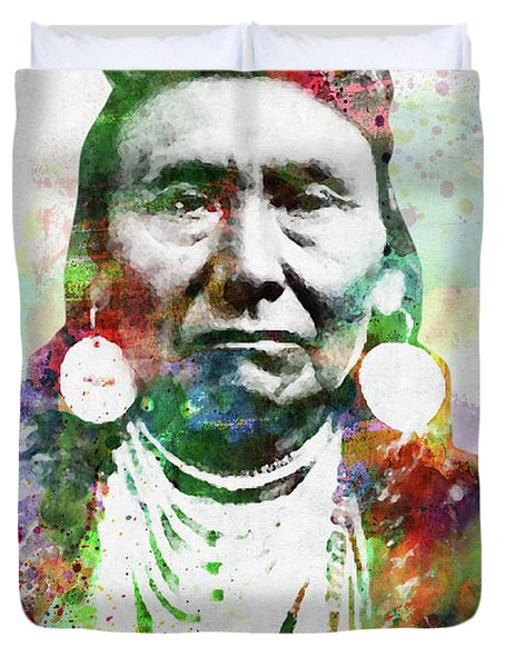 Native American Indian 1 Duvet Cover