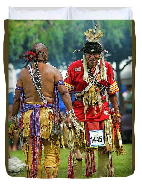Native Americans Duvet Cover