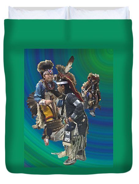 Native Children Entrance Duvet Cover