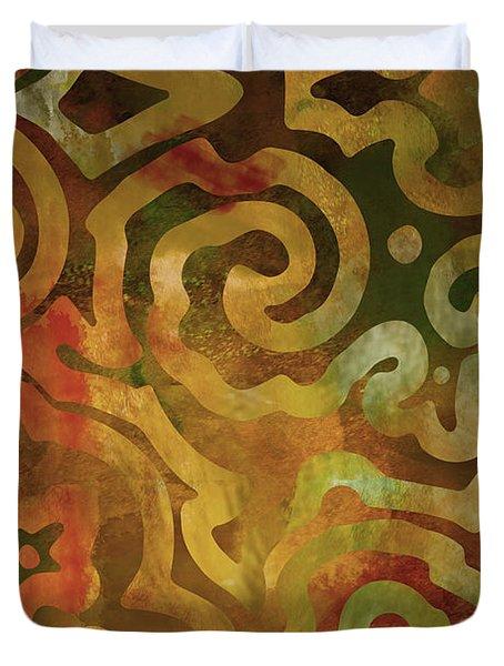 Native Elements Earth Tones Duvet Cover