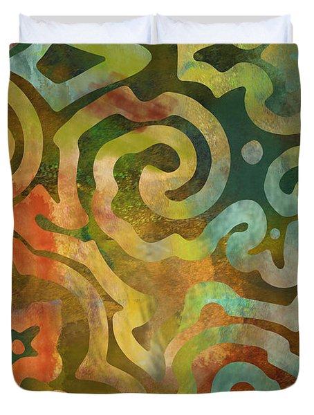 Native Elements Multicolor Duvet Cover