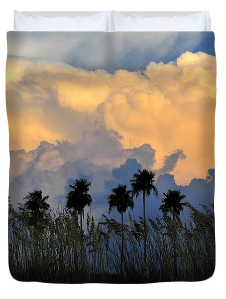 Native Florida Duvet Cover by David Lee Thompson