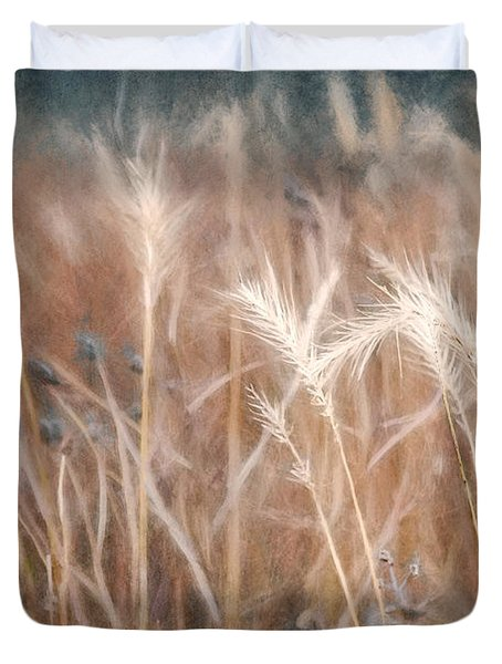 Native Grass Duvet Cover