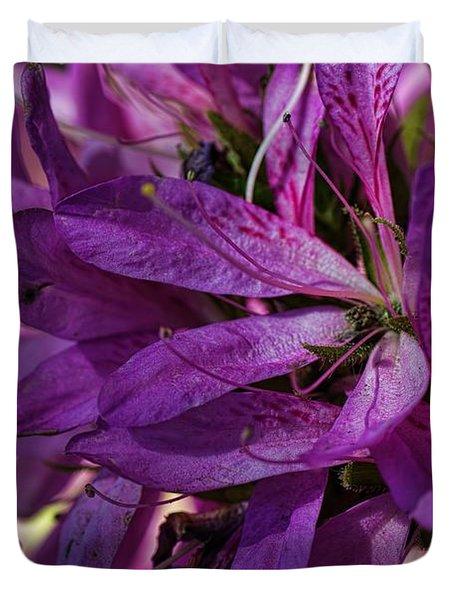 Native Long Petals Duvet Cover