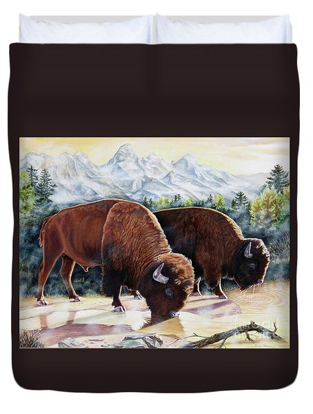 Native Nobility Duvet Cover