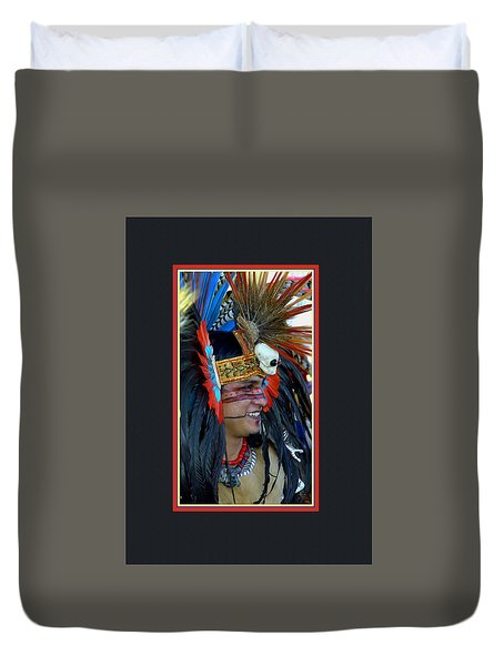 Native  Proud Duvet Cover