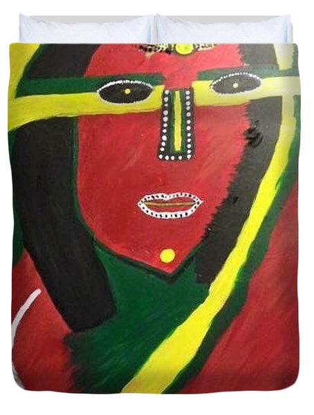 native Queen  Duvet Cover