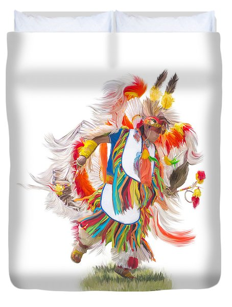 Native Rhythm Duvet Cover