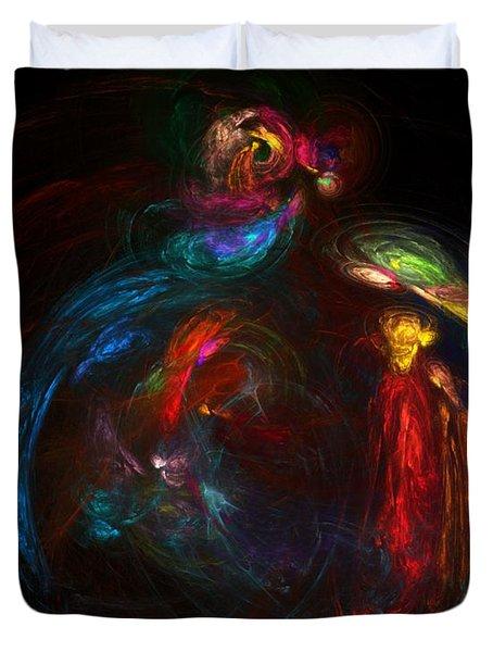 Nativity  Duvet Cover