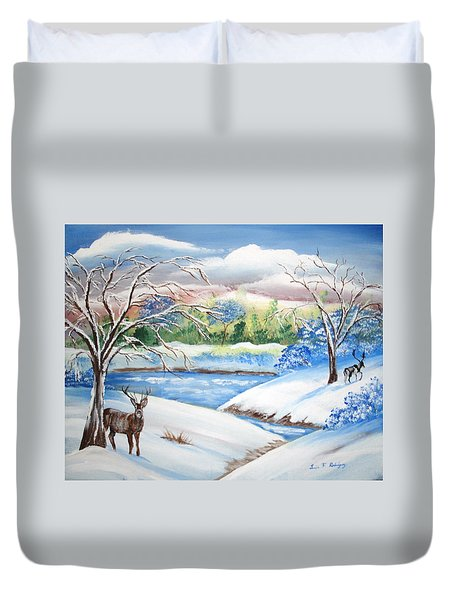 Natural Beauty Duvet Cover by Luis F Rodriguez