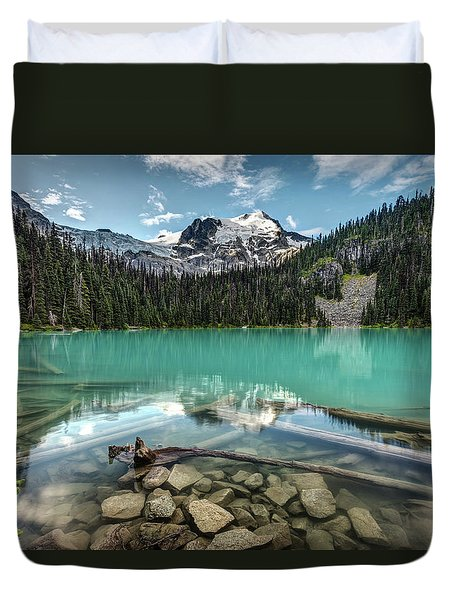 Natural Beauty Of British Columbia Duvet Cover